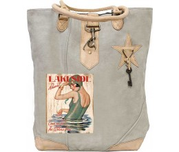 Lakeside Resort Canvas Tote