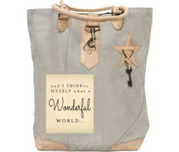 And I Think To Myself Canvas Tote