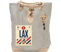 LAX Canvas Tote