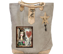 Vintage Old Soul Canvas Tote