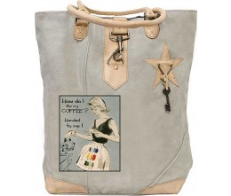 Coffee Handed To Me Canvas Tote