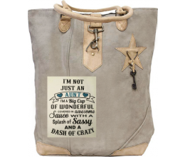 Not just An Aunt Canvas Tote