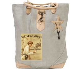 Be Kind To Animals Canvas Tote