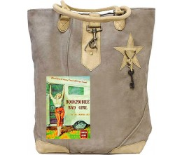 Book Mobile Canvas Tote