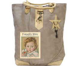 Farmer's Wife Baby Canvas Tote