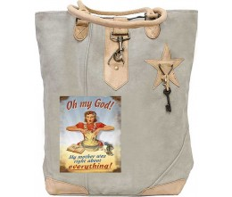 OMG Mother Was Right Canvas Tote