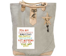 You Are Amazing Canvas Tote