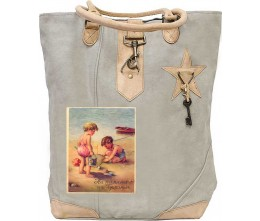 Toddlers At The Beach Canvas Tote