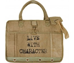 """Live With Character"" Laptop/Messenger Bag"