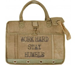 Work Hard, Stay Humble Laptop/Messenger Bag