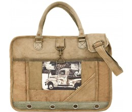 Antique Truck Laptop/Messenger Bag