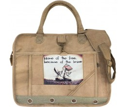 Home of the Free Laptop/Messenger Bag