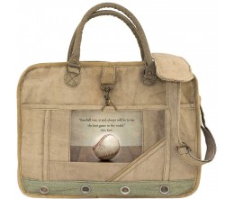 Baseball Image Laptop/Messenger Bag