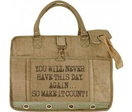 Make It Count Laptop/Messenger Bag
