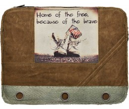 Home Of The Free Laptop Sleeve