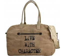 Live With Character Travel Bag