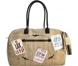 Vintage Travel Tags Travel Bag