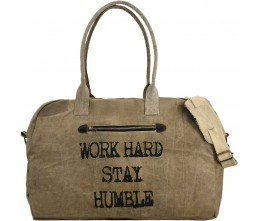 Work Hard, Stay Humble Travel Bag
