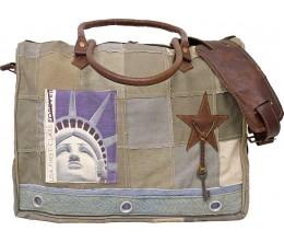 Lady Liberty Laptop/Messenger Bag