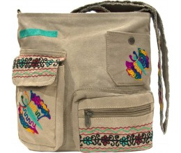 Embroidered Tent Crossbody II