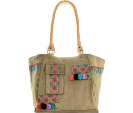 Embroidery Tent Shoulder Bag