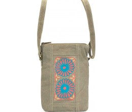 Embroidered Tent Small Crossbody D