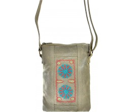 Embroidered Tent Small Crossbody E