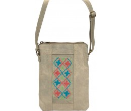 Embroidered Tent Small Crossbody F