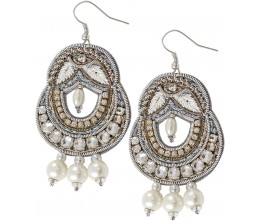 Keepsake 3-Pearl Drop Earrings