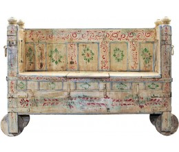 Memory Lane Hand-painted Wooden Sofa