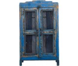 Island Blue Cabinet