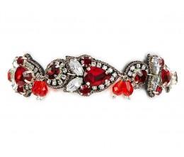 Vintage Boho Red Bracelet