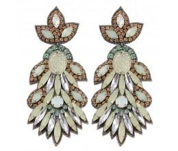 Glam Daisy Earrings